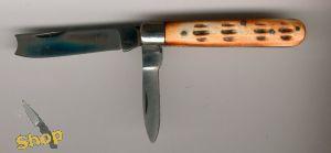 2 Blade Razor Taschenmesser mit Knochengriffschalen