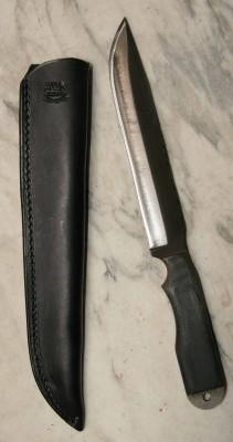 Anza Dune Slayer Messer aus Feilenstahl