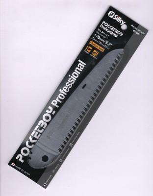 Silky Pocketboy Ersatzsägeblatt 341-17 für die Pocketboy Säge 170mm, Medium Teeth