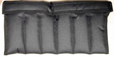 Sammler Case Etui für 12 Klappmesser, weich gepolstert