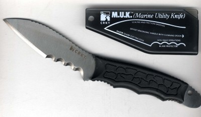 CRKT Columbia River Knife and Tool M.U.K. Black Handle VEFF Comb