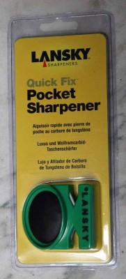 Lansky Quick Fix Pocket Sharpener Messerschärfer  2 Stufen grün