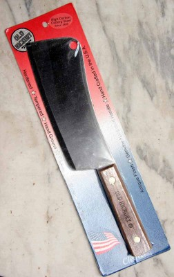 Ontario Old Hickory 76 7 Cleaver Hackmesser