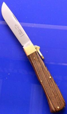 Otter Taschenmesser 05 Sapeli mit Bügelverschluß Sapeli