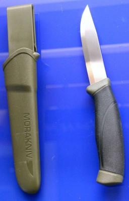 Mora Knife Companion MG (S) schwarz/grün