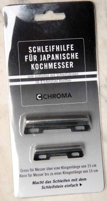 Schleifhilfe Schärfhilfe Chroma ST-G Set 2tlg.