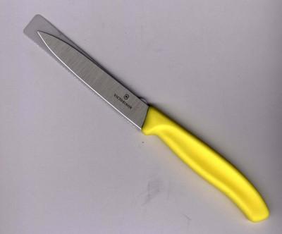 Victorinox Universalmesser 10cm Klinge mittelspitz gelb 67706.L118