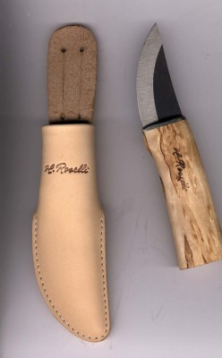 Heimo Roselli R120 Grandfather`s Knife Opas Messer