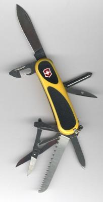 Victorinox EvoGrip 18 Yellow/Black 2.4913.C8
