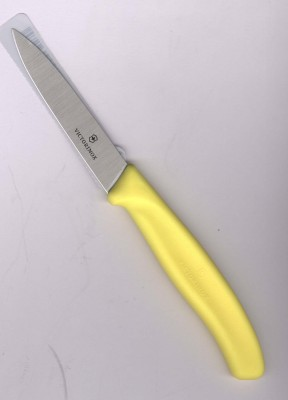 Victorinox Universalmesser 8cm Klinge mittelspitz gelb glatt 6.7606.L118