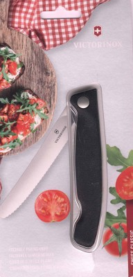 Victorinox Swiss Classic Foldable schwarz 6.7833.FB Reisebrötchentafelklappmesser Welle