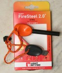 Swedish Firesteel 2.0 Army mit Kunststoffgriff Orange
