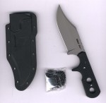 Cold Steel 49 HS Mini Tac Skinner Neck Knife mit jagdlicher Klin