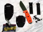 Rat Cutlery RC Knives RC 3 plain RC3P OD Orange ESEE 3P OD