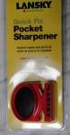 Lansky Quick Fix Pcket Sharpener Messerschärfer  2 Stufen rot