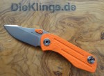 Real Steel RSK3001 Precision Framelock Einhandklappmesser Orange