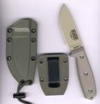 ESEE Knives ESEE 3PM-DT mit olivfarbener Scheide