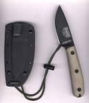 ESEE Knives ESEE 3HM-K mit Traditional Griff und schwarzer Scheide