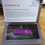 Victorinox 0.8201.L18 Pioneer Alox rot 2018 Jahresmodell Limited Edition